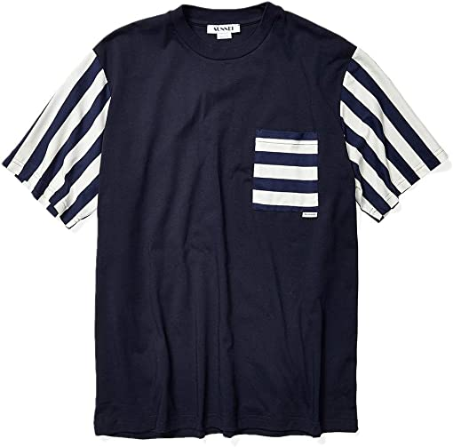 Dark Blue/White/Blue Stripes