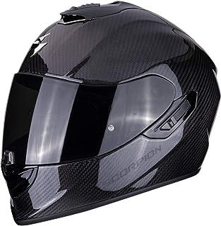 Scorpion Casco de moto EXO 1400 AIR CARBON Solid, Negro, L