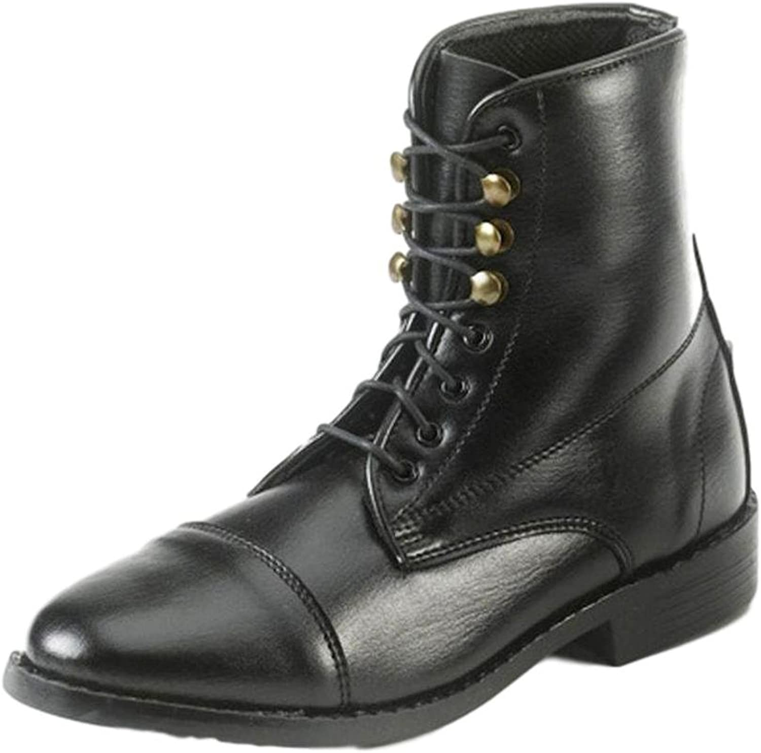 Equistar Ladies All Weather Lace Paddock Boots