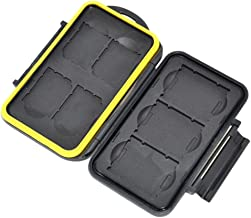 JJC Multi Memory Card Case Speicherkarten Schutzbox für 3 Stück XQD CFexpress Speicherkarte Typ B und 4 Stück SDHC Cards -...