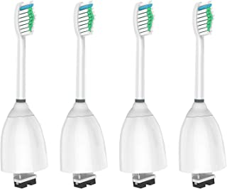 WyFun Replacement Toothbrush Heads for Philips Sonicare E-Series fits Elite, Essence, Advance, CleanCare, Xtreme, eSeries, HX7022, HX7023, HX7026,HX7030 4 Pack