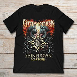 godsmack shinedown tour shirt