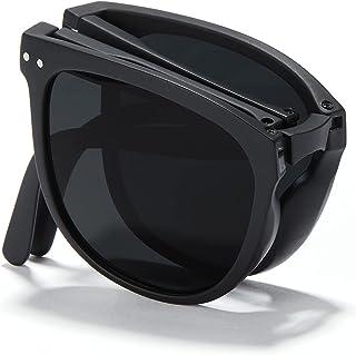 Cyxus Folding Sunglasses For Women Men(easy to carry) Lightweight TR90 Polarized Sunglasses UV400 Protection Anti Glare