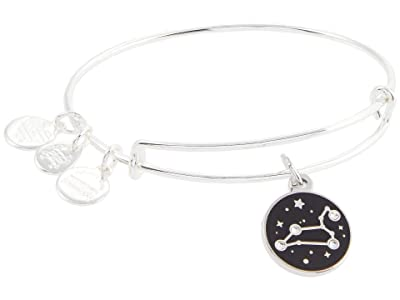 Alex and Ani Color Infusion Leo Bangle Bracelet (Shiny Silver) Bracelet