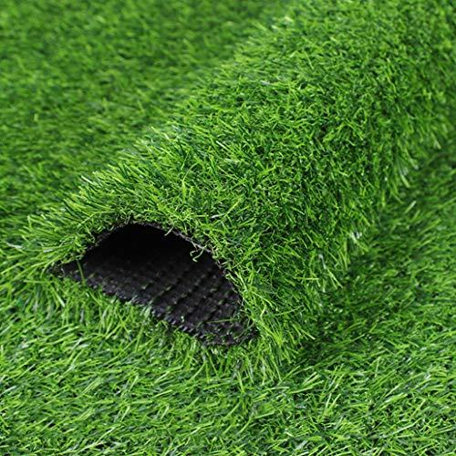 Auart Kunstmatige turf-terras, kunsthek, buitendecoratie, antislip, voor buiten, voor de tuin in in het Engelse gazon, landschap, synthetisch, grastapijt, mat voor huisdieren