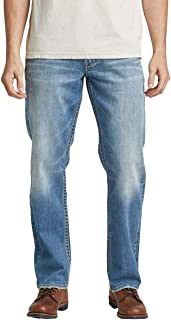 Silver Jeans Co. Men's Hunter Loose Fit Tapered Leg Jeans