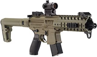 Sig Sauer MPX .177 Cal CO2 Powered SIG20R Red Dot Air Rifle 30 Rounds, Flat Dark Earth, One Size