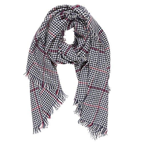Melifluos Bufanda Pañuelo cuello de invierno suave de mujer con tacto de cashmere (SP01-13)