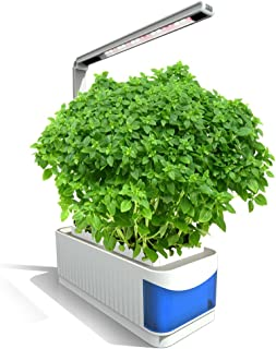 Lixada Multifunctional Smart Indoor Herb Gardening Planter Kit Hydroponic Growing System with LED Plant Grow Light AC100-240V