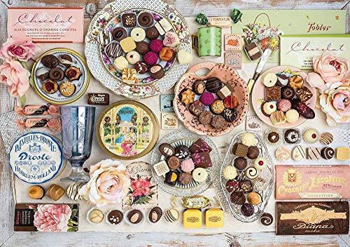 meaosy Puzzle Schokolade -Klassische Puzzle, 500/1000Teile, in edler Motiv-Schachtel, Fotopuzzle-Kollektion \'Deutschland\'
