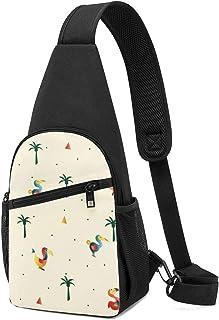 Dodo - Bolso bandolera con patrón de pájaro, ligero, mochila de hombro, bolsa cruzada, bolsa de viaje, senderismo, mochila...