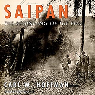 Saipan audiobook cover art