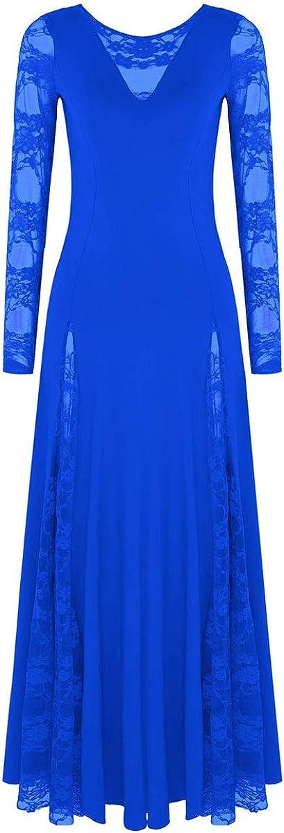 TiaoBug Women's Lace shipfree Dress Waltz Dance Sale special price Skirt Modern