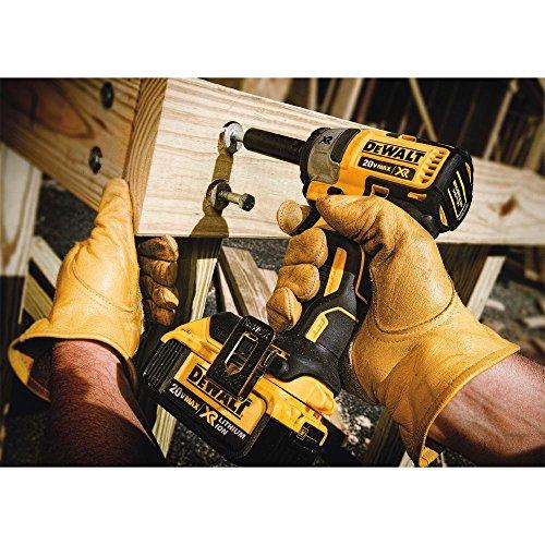 DEWALT 20V MAX XR Cordless Impact Wrench Kit, 3/8-Inch (DCF890M2)