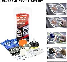 Kit di pulizia e lucidatura dei fari dell/'auto sistema professionale di restauro accessorio per auto Zantec