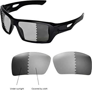 Walleva Replacement Lenses for Oakley Eyepatch 2 Sunglasses - Multiple Options Available