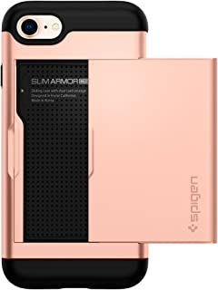 Spigen Slim Armor CS Designed for Apple iPhone 7 Case (2016) / Designed for iPhone 8 Case (2017) - Blush Gold