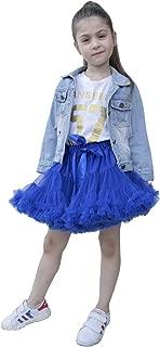 Girls Blue Tutu Skirt