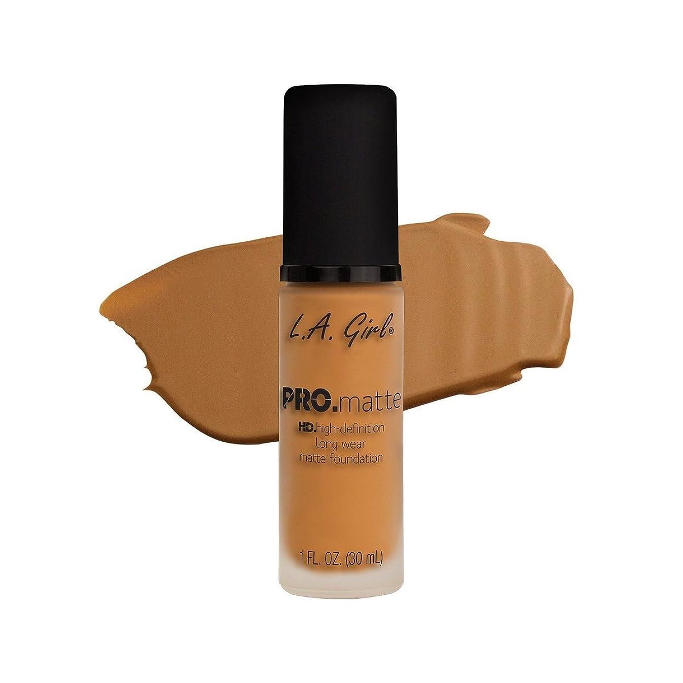 誓い荒れ地召集する(6 Pack) L.A. GIRL Pro Matte Foundation - Golden Bronze (並行輸入品)