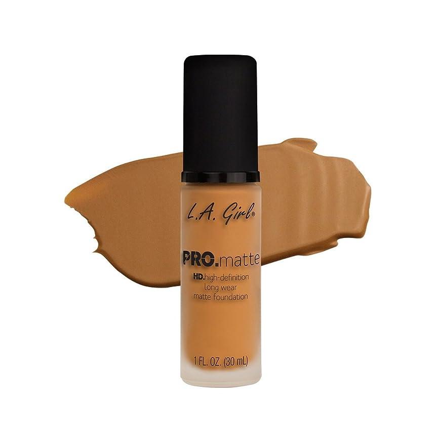 矢じり封筒魔術師(6 Pack) L.A. GIRL Pro Matte Foundation - Golden Bronze (並行輸入品)