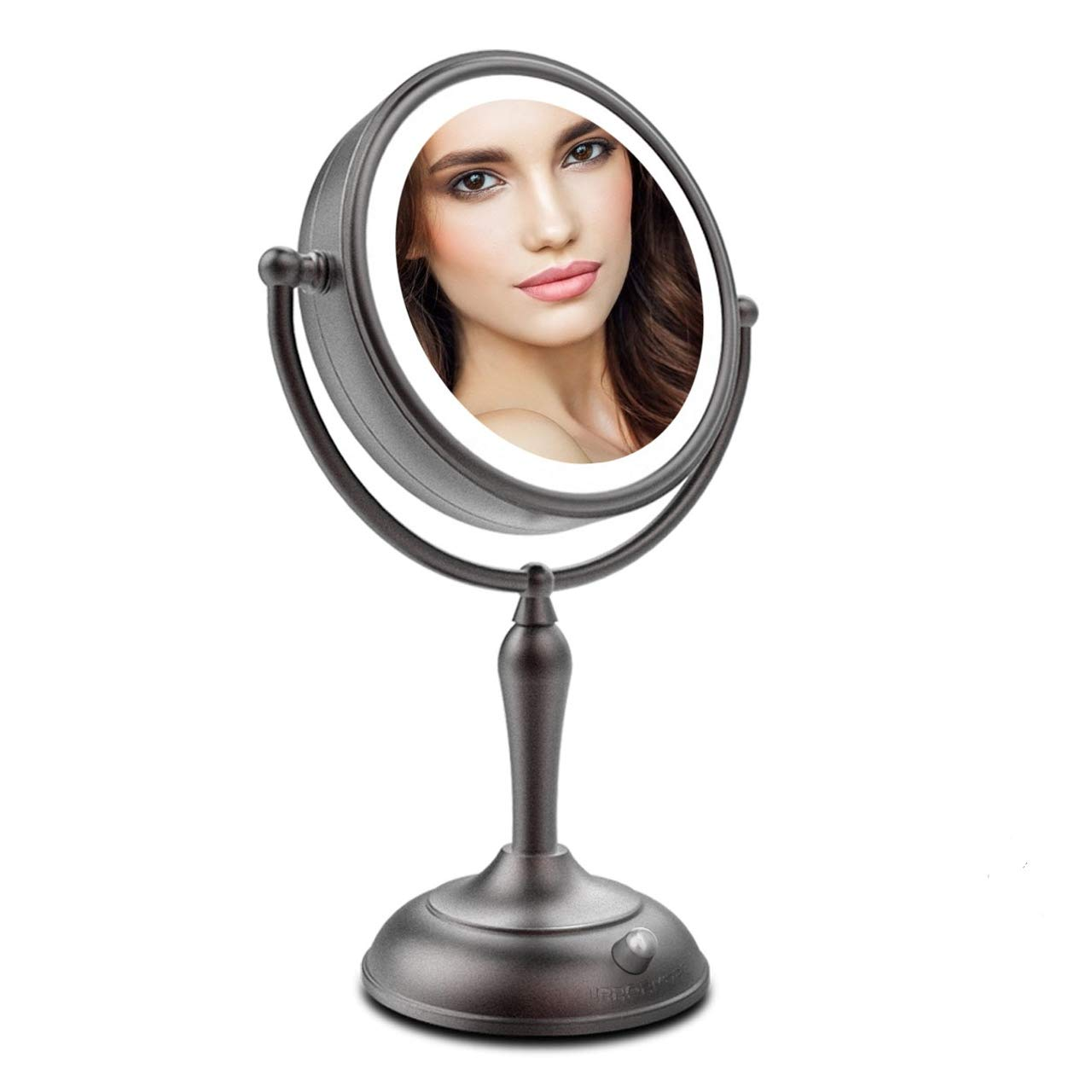 MIRRORMORE LED Makeup Mirror Magnifying