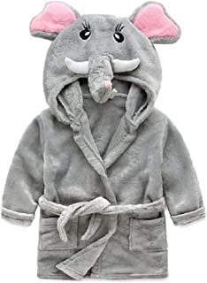 MiniKidz /& 4Kidz Childrens//Girls Novelty Mouse Dressing Gown with Tail
