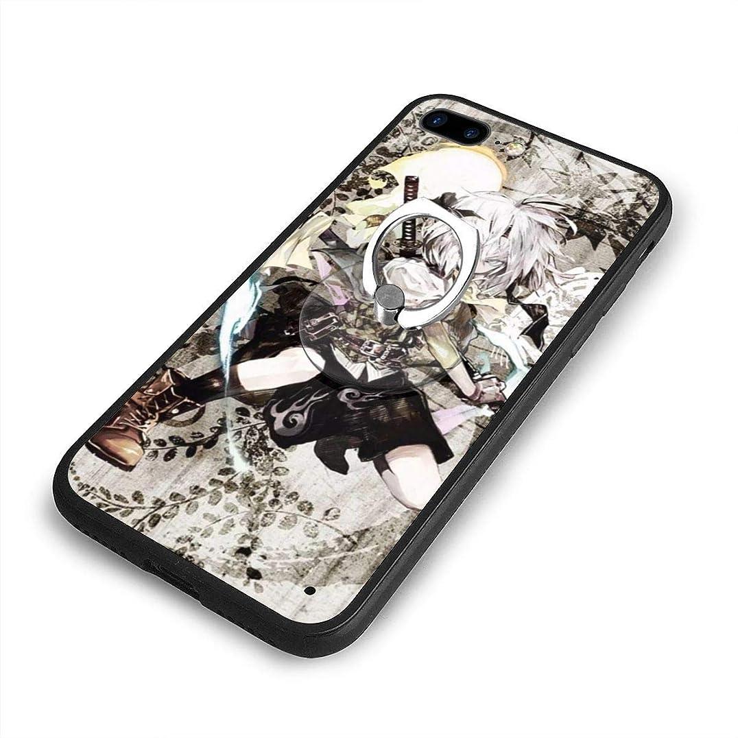山岳気分伝える東方ProjectプロジェクトiPhone 7/8 Plusケースリングブラケット 携帯カバー 創意デザイン軽量 傷つけ防止 360°回転ブラケット 携帯ケース PC 衝撃防止 全面保護