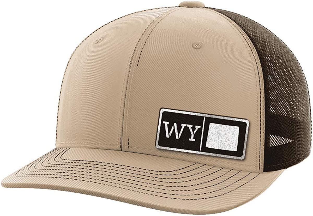 Wyoming Homegrown Black Patch Hat