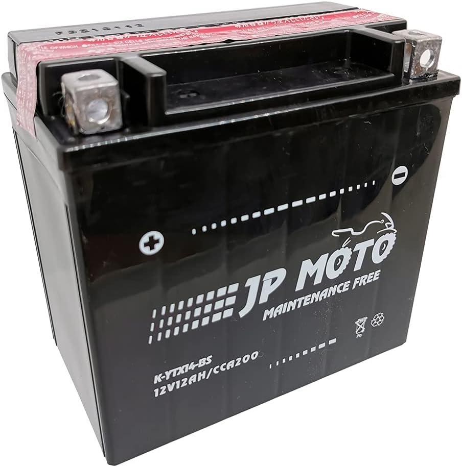 Batería Moto YTX14-BS AGM 12 V 12 Ah CCA/-18º 200 Amp