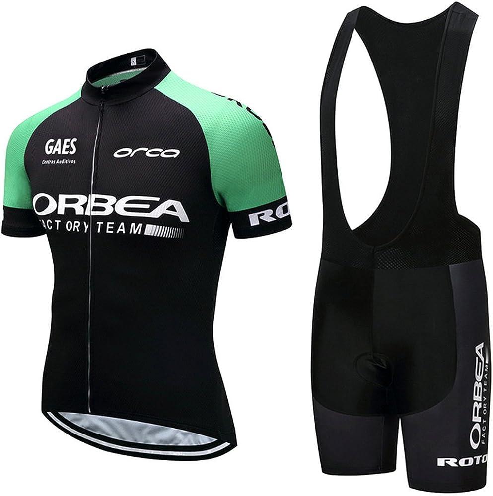 Cycling Jerseys Houston Mall Men's Short Sleeve and Bib Bicycle Shorts Je Cheap SALE Start Set