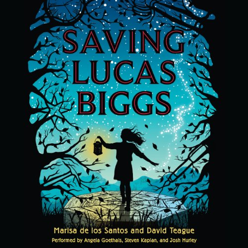 Saving Lucas Biggs audiobook cover art