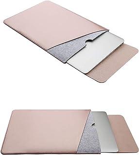 غطاء حماية بولي يوريثان من امولي لاجهزة ماك بوك برو ماك بوك اير 13.3 انش، يناسب طراز A1466/A1502/A1425 (ذهبي وردي)