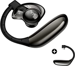 AMINY UFO Bluetooth Headset Wireless Bluetooth Earpiece-Compatible with..