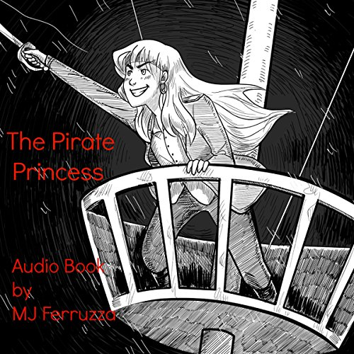 The Pirate Princess audiobook cover art