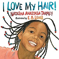 I love my hair is a great book for black children to learn and appreciate their hair.