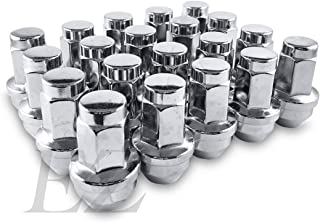 SCITOO 32 PCS Chrome Lug Nuts Spline 1 Key for 13//16 Drive 14x2 Thread Closed End,Fits for 1999-2002 Ford Excursion//F-250 Super Duty//F-350 Super Duty
