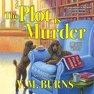 The Plot Is Murder audiobook cover art