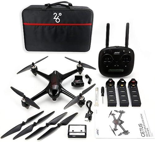 venta de ofertas Kongqiabona JJR     C X8 RC helicóptero 2.4G sin escobillas Motor Drone RC con 5G WiFi FPV 1080P HD cámara GPS Quadcopter Tres baterías  artículos de promoción