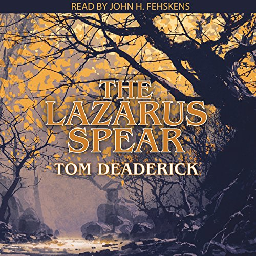 The Lazarus Spear audiobook cover art