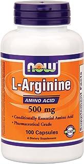 Now Foods L-Arginine 500 mg - 100 Caps 6 Pack