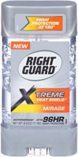 Right Guard Xtreme 4 Ounce Gel Heat Shield Mirage (118ml) (3 Pack)