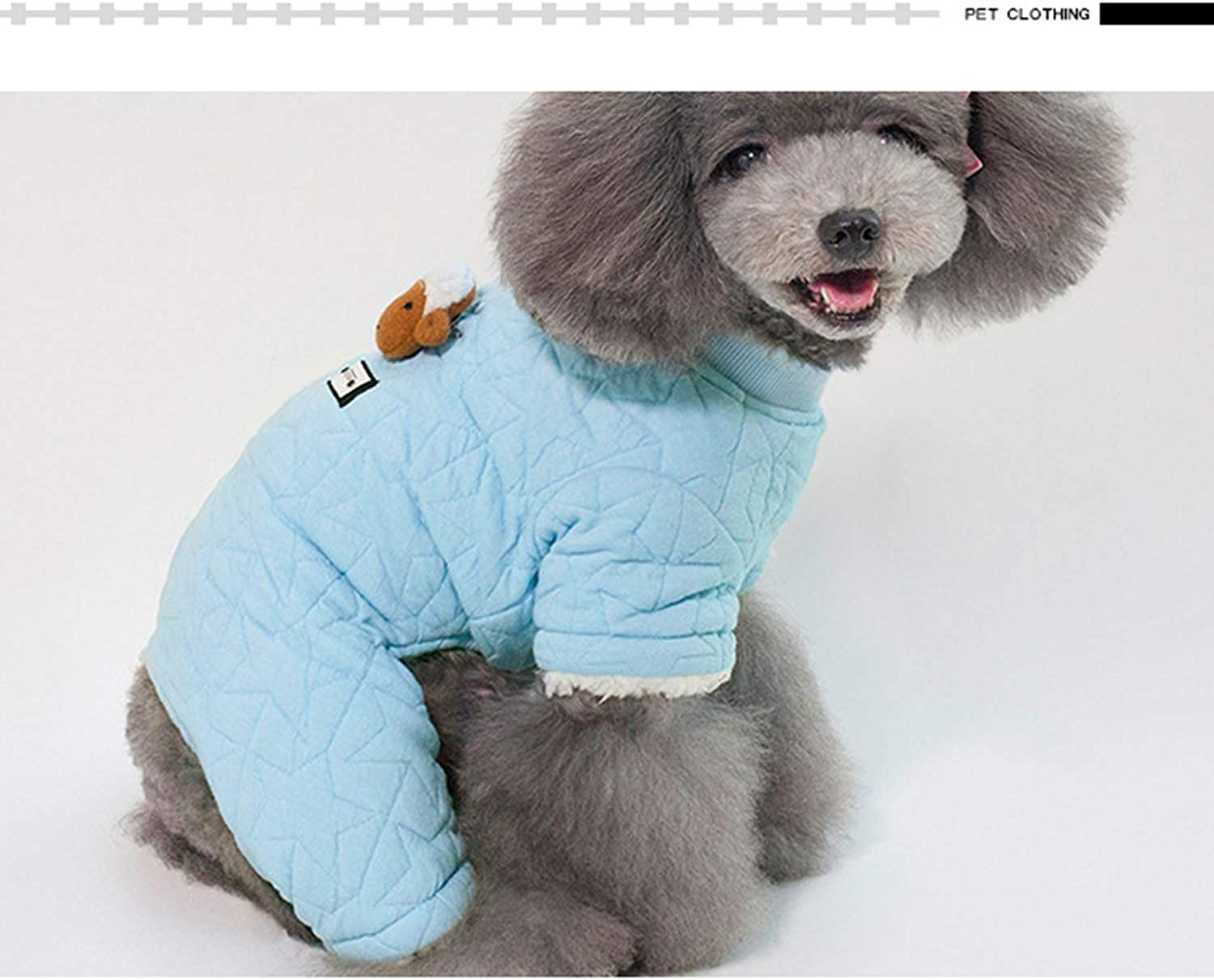 Clothes for Pets Winter Warm Thick Sheep Clothing FourLegged Dog Coat Small Dog Clothing