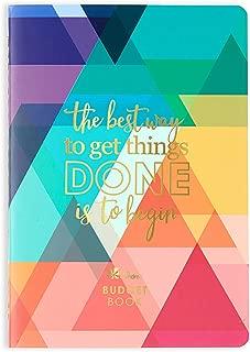 Erin Condren Designer Petite Planner - Financial Planner/Budget Planner Organizer Book Edition 2 with Debt Tracking, Stickers & Quote Sheet