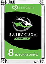 Seagate BarraCuda Internal Hard Drive 1TB SATA 6Gb/s 64MB Cache 3.5-Inch - Frustration Free Packaging (ST1000DM010) (Renewed)