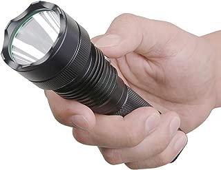 Guard Dog Xcess 550 Lumen Tactical Waterproof Flashlight with Custom Light Dimmer, Rechargeable