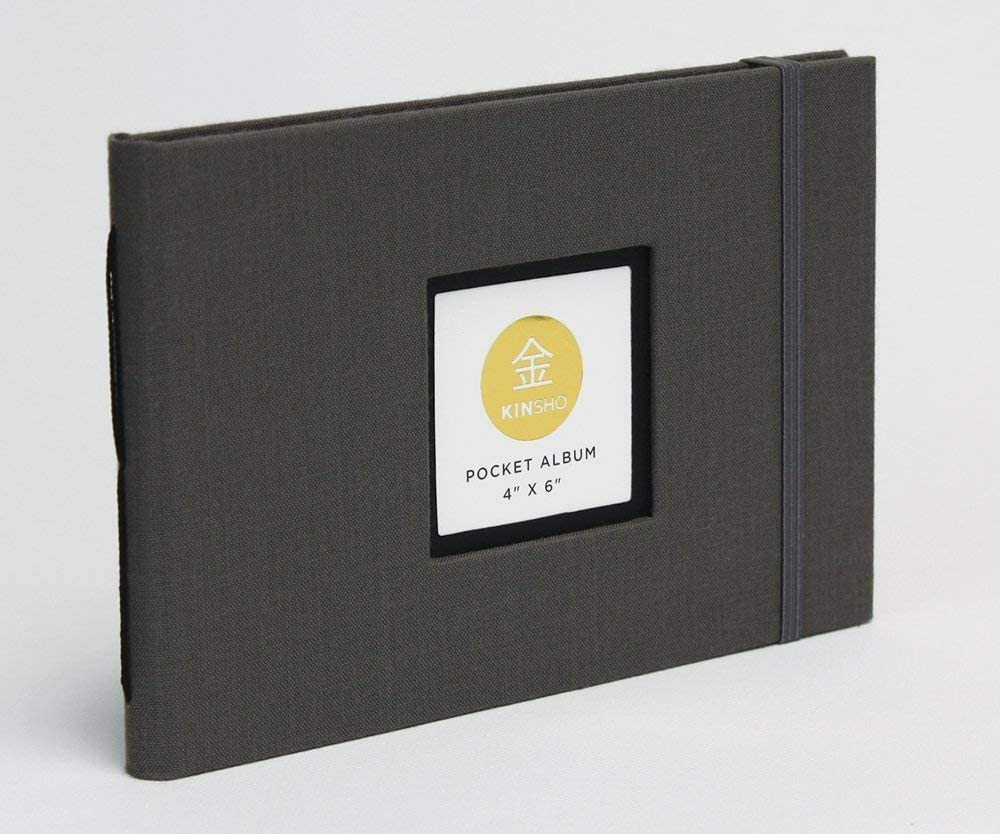 Kinsho Pocket Albums Stone 4 x 6