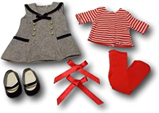 """American Girl Melody's School Outfit for 18"""" Dolls (Doll Not Included)"""