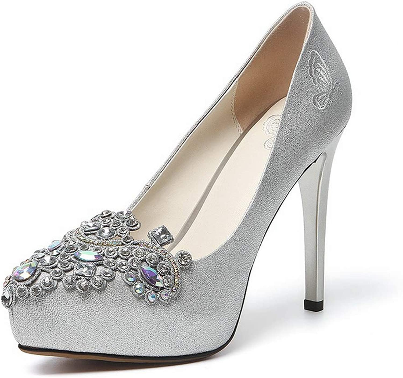 AdeeSu Womens Studded Beaded Travel Urethane Pumps shoes SDC06128