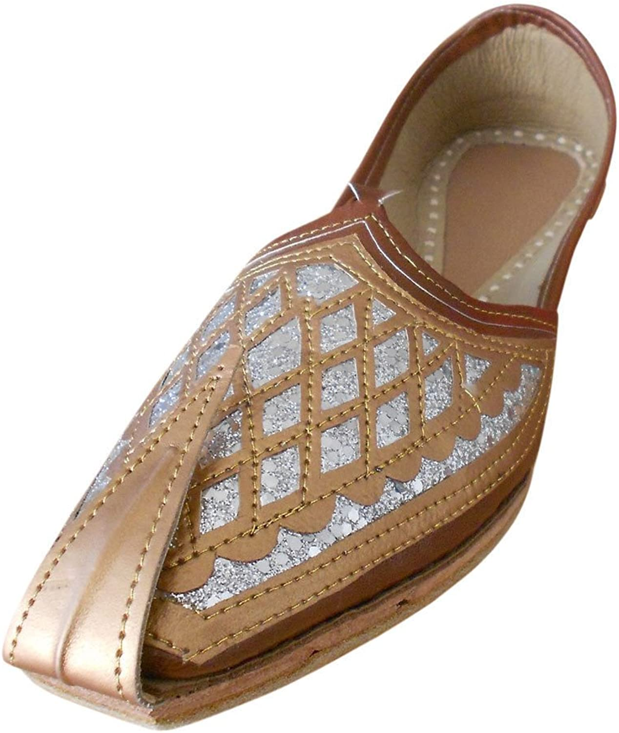 Kalra Creations Men's Traditional Faux Leather Indian Party shoes
