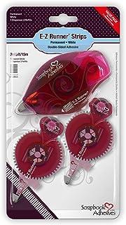 Artemio 3L01231 Kit de Dérouleur Adhésif Double Face E Z Runner, Colle, Rose, 12,3 x 2 x 22,8 cm